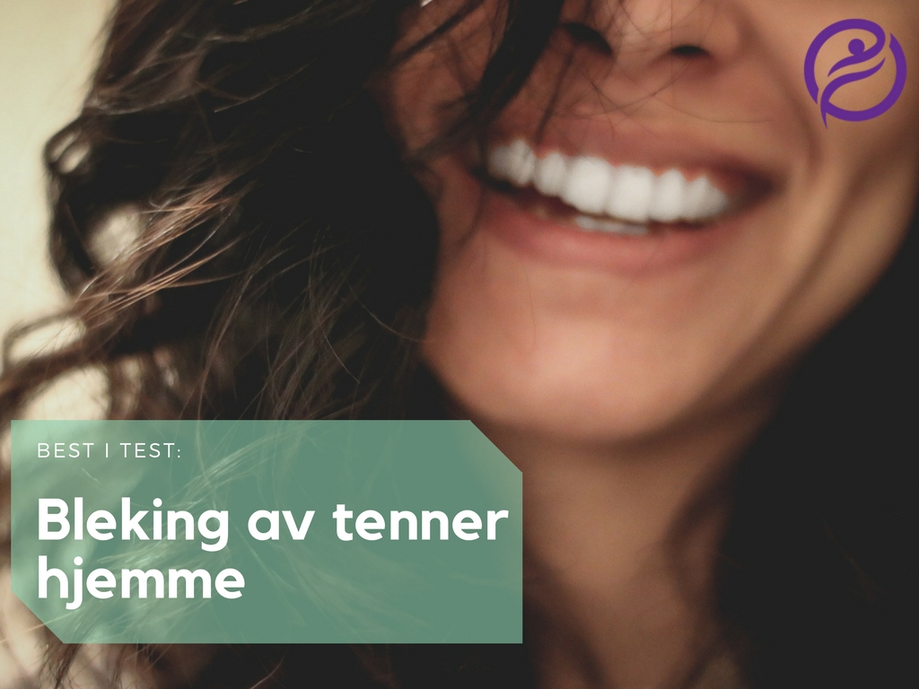 Bleking av tenner hjemme